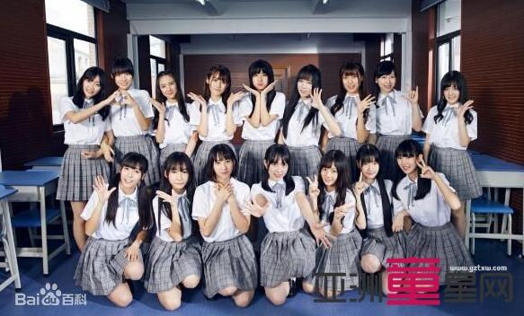 GNZ48组合成员《新年好》百度打到TOP3