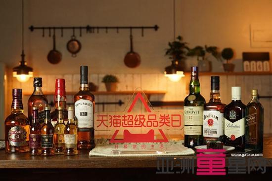 天猫超级品类日发布趋势报告 威士忌正在成为中产心头好